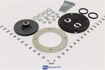 Diaphragm set, H & B