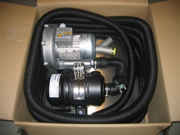 Purge air unit, w/10 m hose