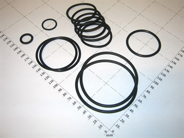 O-ring kit, KilnLoq complete