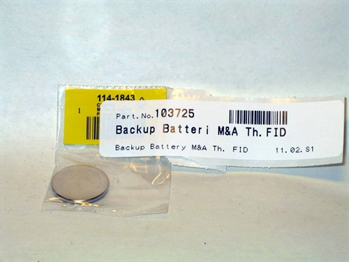 Backup Battery M&A Th. FID