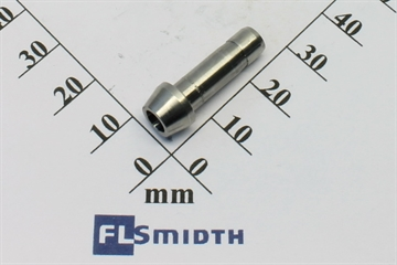 Port connector, 6mm, SS