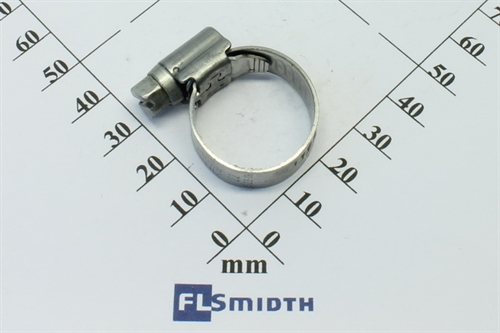 Hose clamp SS 13-20mm