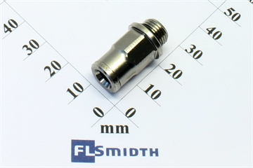 "Connector, 6mm-G1/8"", snap"